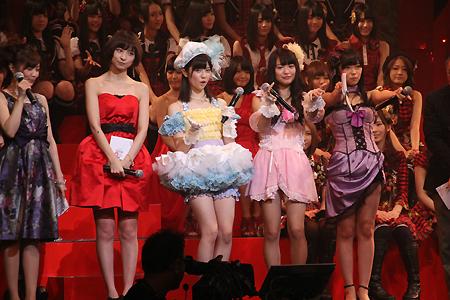 第2回AKB48紅白対抗歌合戦 ぱるる と りのりえ