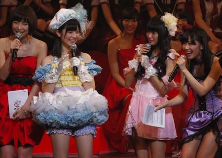 指原さんのスカートの謎【第2回AKB48紅白対抗歌合戦】3