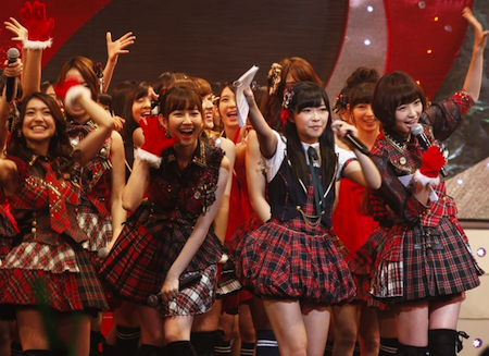 指原さんのスカートの謎【第2回AKB48紅白対抗歌合戦】4