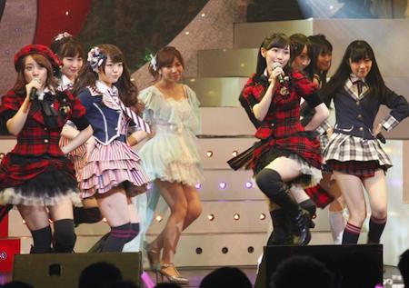 指原さんのスカートの謎【第2回AKB48紅白対抗歌合戦】5