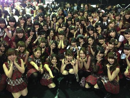 2012年 AKB48紅白対抗歌合戦 紅組