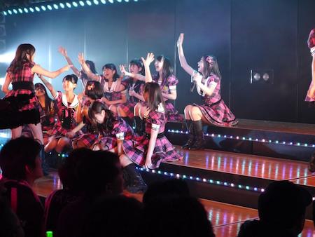 HKT48チームHの出張公演 in AKB劇場2