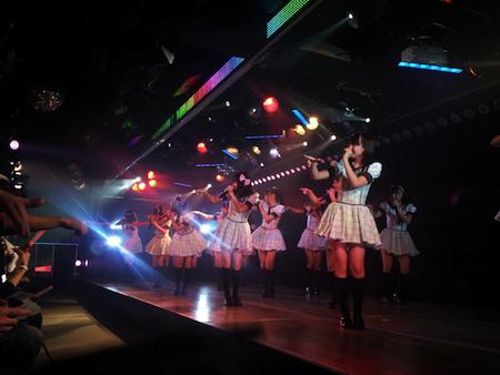 HKT48チームHの出張公演 in AKB劇場9