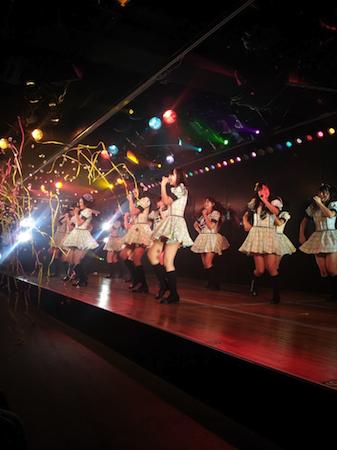 HKT48チームHの出張公演 in AKB劇場11