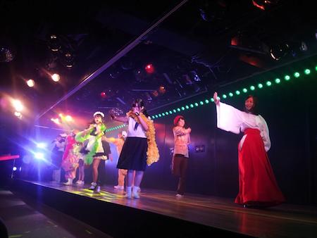 HKT48チームHの出張公演 in AKB劇場7
